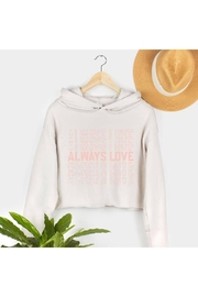 Type A Always Love Sweatshirt - Front cropped