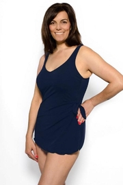 TYR Sarong Style One-Piece - Back cropped