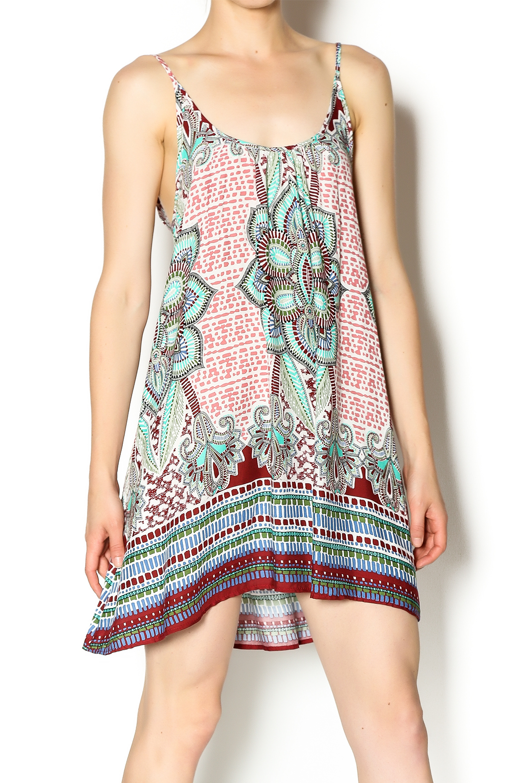 Tysa Morocco Mini Dress - Main Image