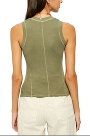 Free People U-Neck Tank - Front full body