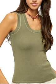 Free People U-Neck Tank - Front cropped