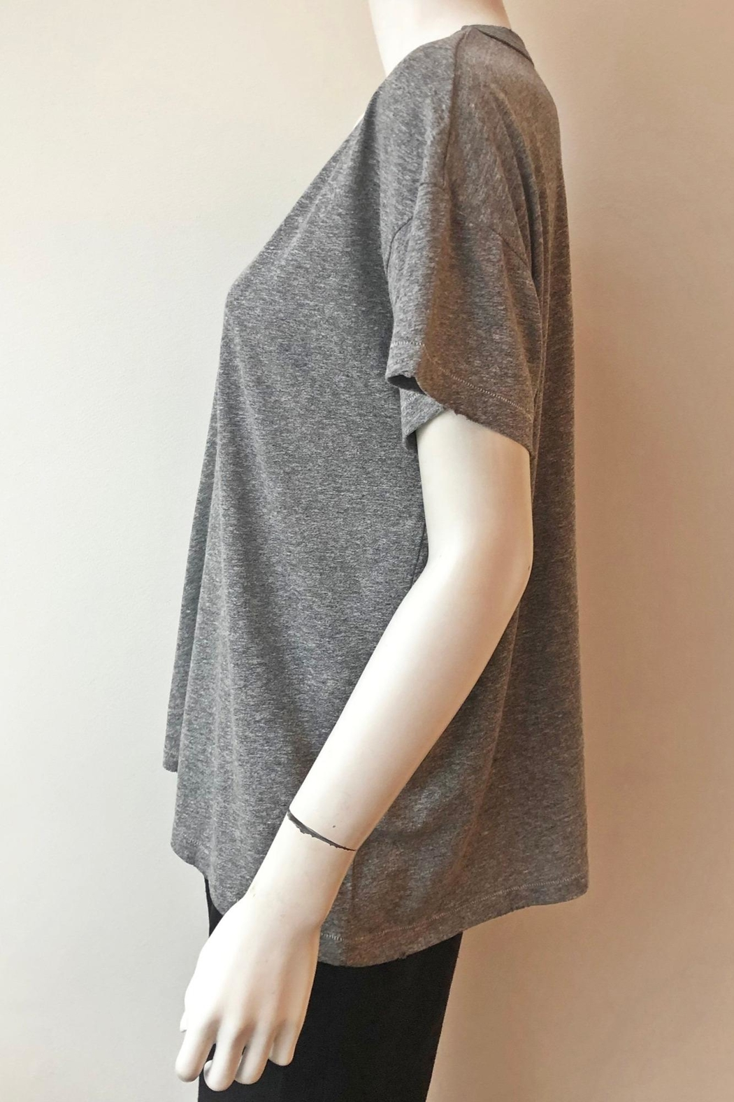 The Great U Neck Tee - Side Cropped Image