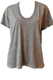The Great U Neck Tee - Front cropped