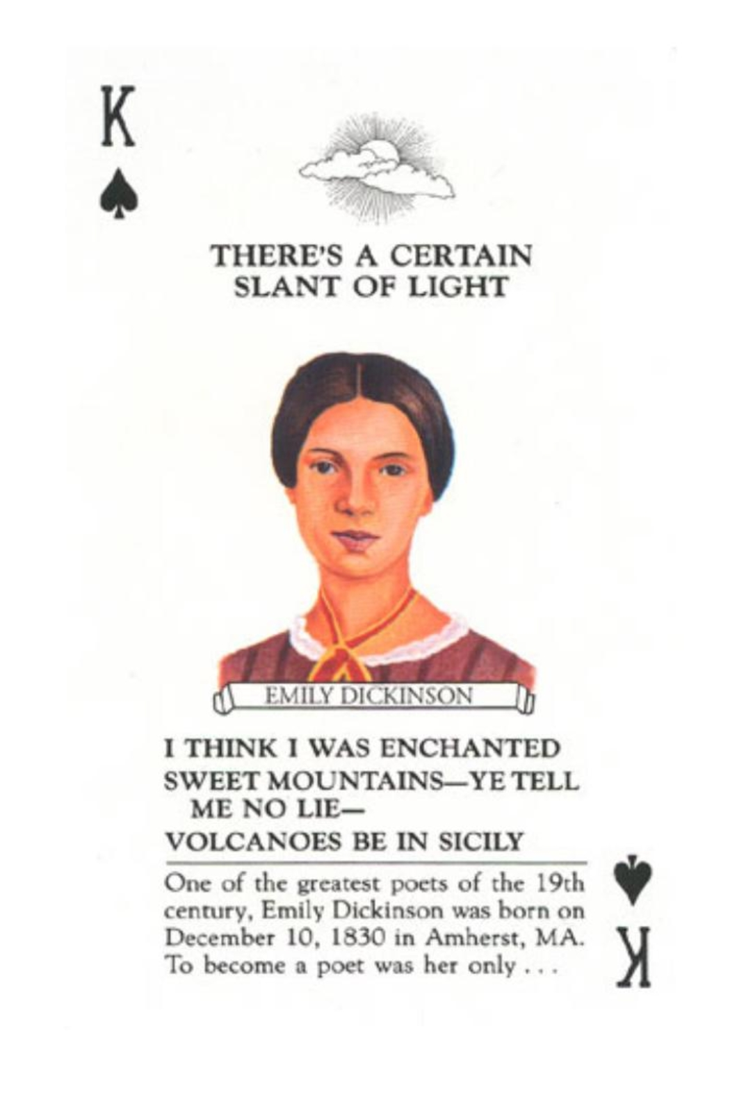 U.S. Games Women Authors Cards - Front Full Image