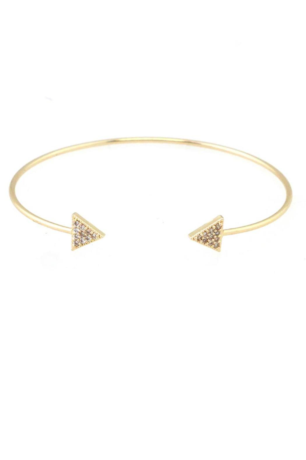 U.S. Jewlery House Arrow Cuff Bracelet - Main Image