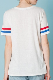 Sweet Claire u.s.a t Shirt - Back cropped