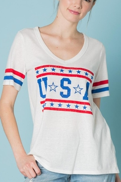 Shoptiques Product: u.s.a t Shirt