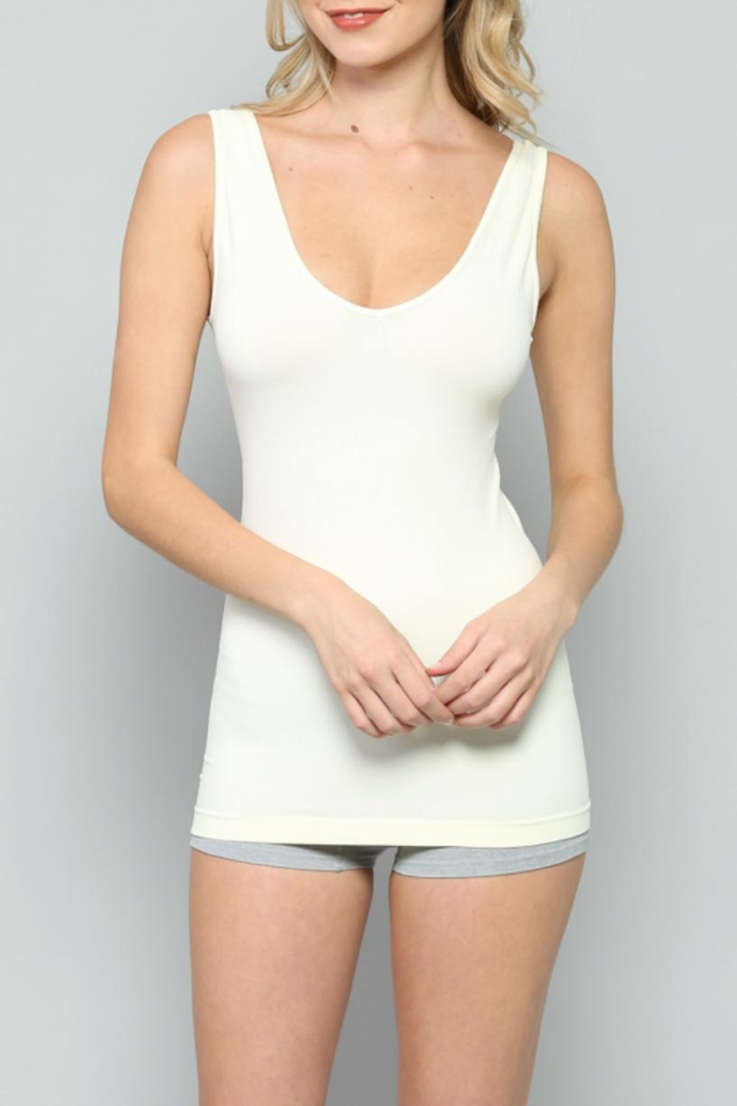 By Together U-V Seamless Tank - Side Cropped Image