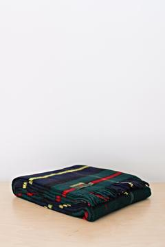 Shoptiques Product: Tartan Wool Throw