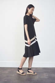 UCHUU Accordian Pleat Dress - Product Mini Image