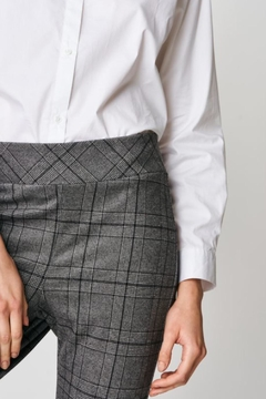UCHUU Plaid Stretch Trousers - Product List Image