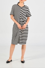 UCHUU Double Stripe Dress - Front cropped