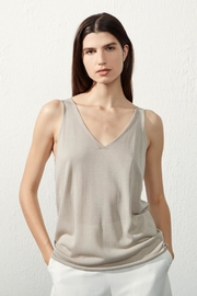 UCHUU Fine Knit Cami - Front cropped