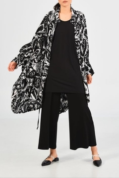 Shoptiques Product: Poetic Printed Coat