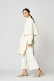 UCHUU Ribbed Poncho-Cape - Product Mini Image