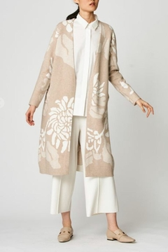 Shoptiques Product: Printed Floral Cardigan