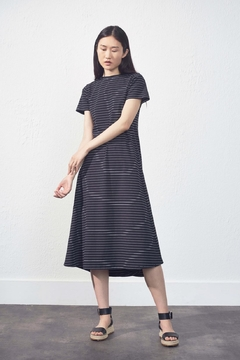 UCHUU Striped Relaxed Dress - Product List Image