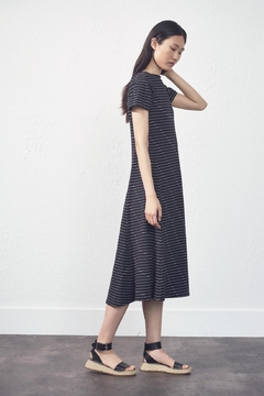 UCHUU Striped Relaxed Dress - Alternate List Image