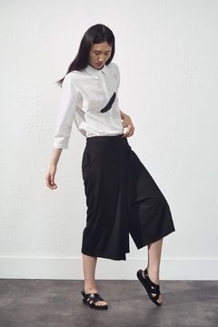 UCHUU Wide-Leg Panel Trouser - Product List Image