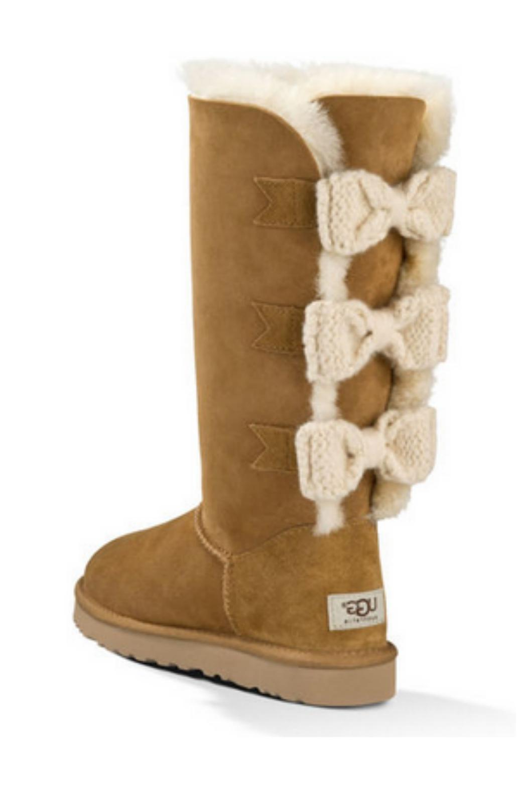 Uggs Mini Bailey Knit Bow