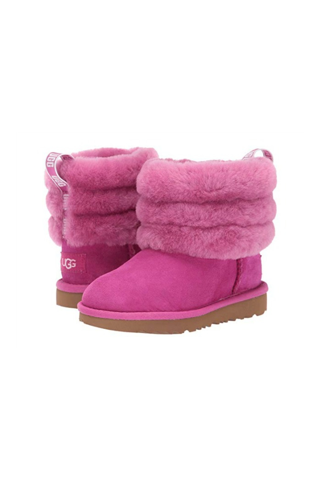 Ugg Kids Fluff Mini Boot - Front Cropped Image