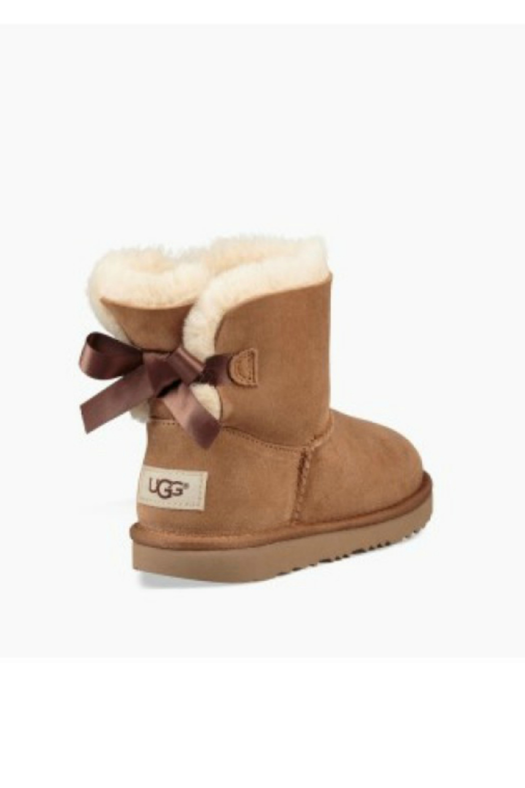 Ugg UGG KIDS MINI BAILEY BOW II - Side Cropped Image
