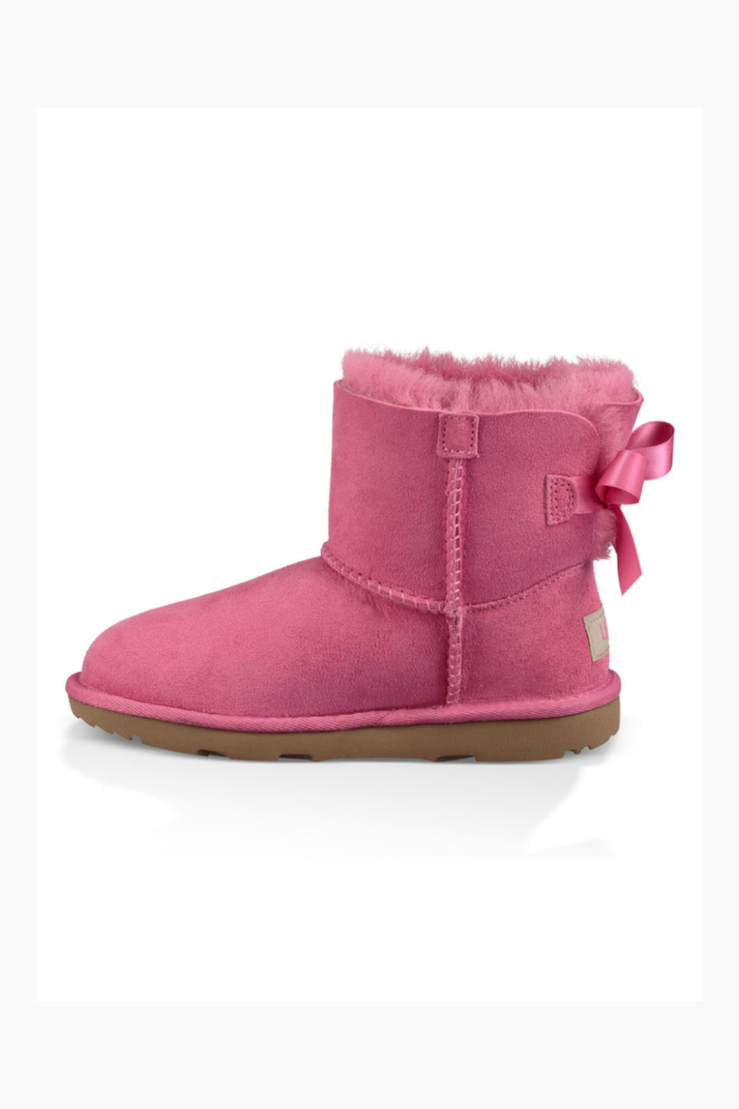 Ugg UGG KIDS MINI BAILEY BOW II - Front Full Image