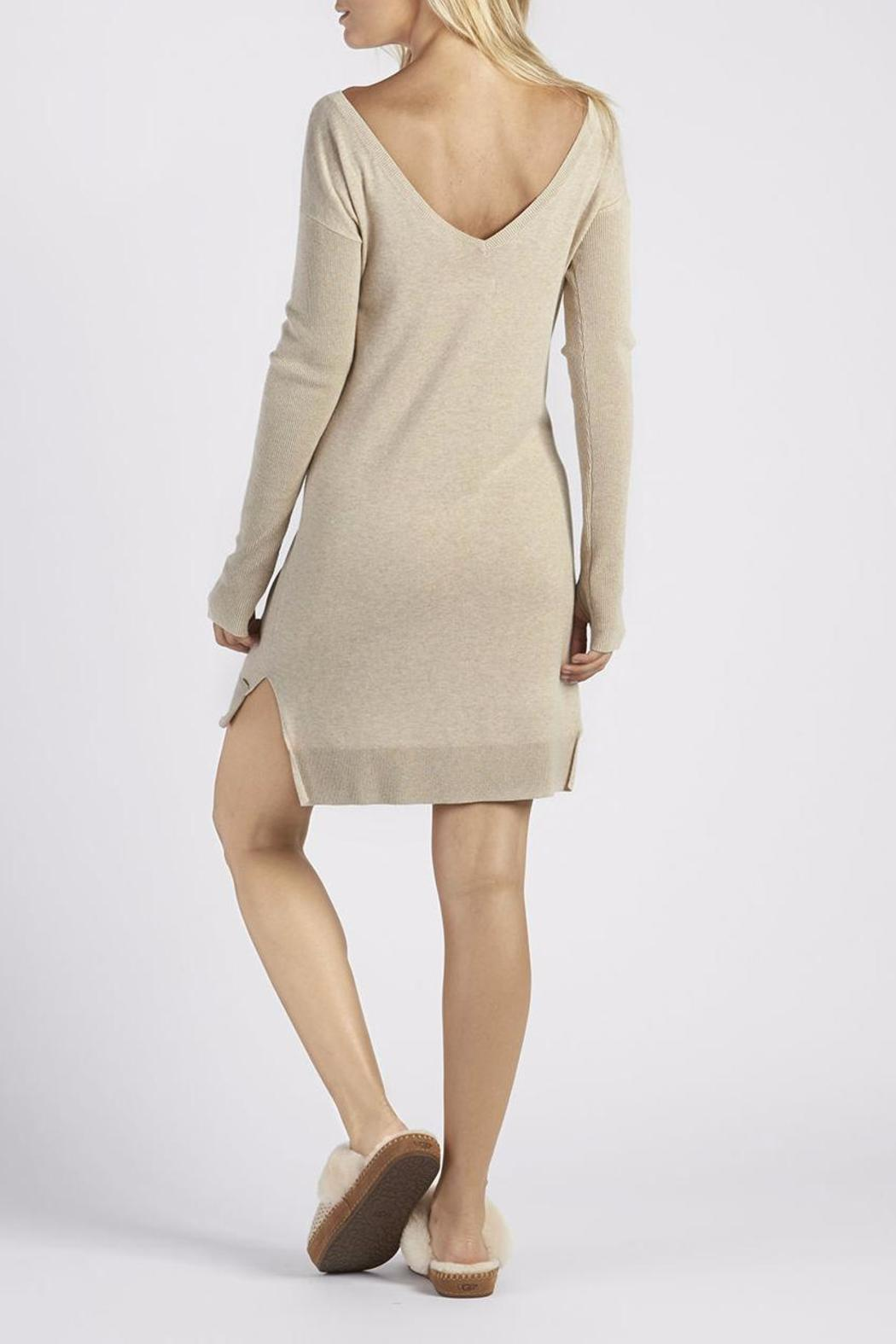 Ugg australia long sweater dress from indiana by flirt for Sweater over wedding dress