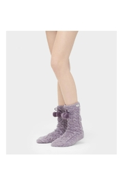 UGG Australia Ugg Pompomfleece-Lined Crewsock - Front cropped