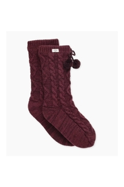 Ugg Pompomfleece-Lined Crewsock - Front cropped
