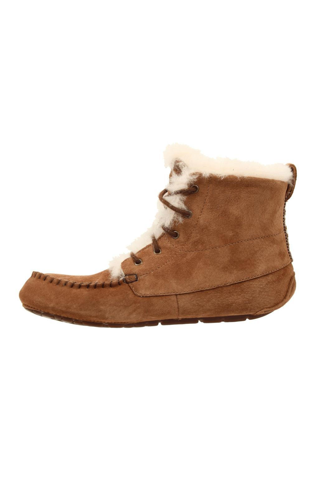 UGG Australia Chickaree Moccasin Bootie - Front Cropped Image