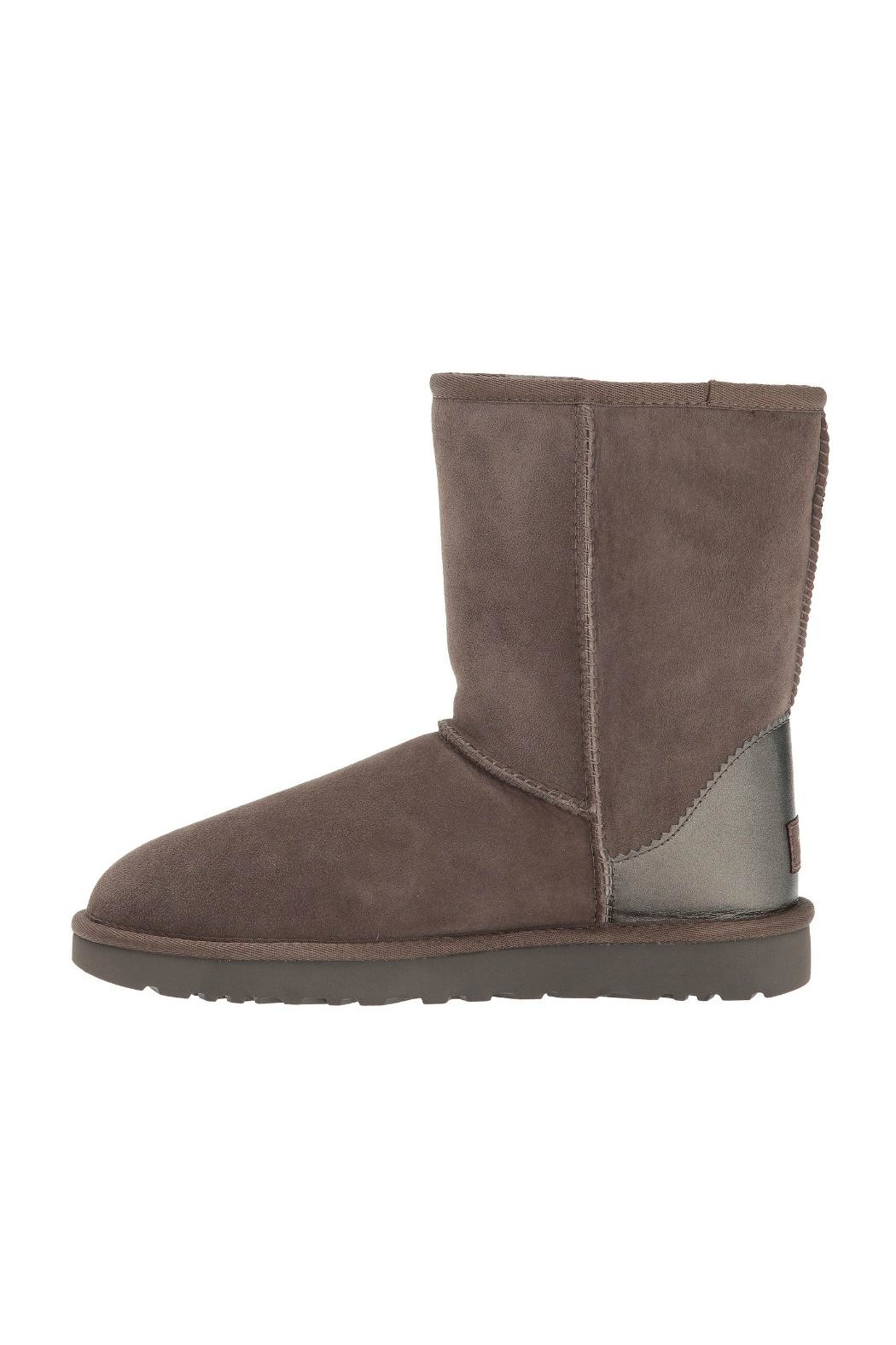 UGG Australia Classic Short Metallic Boots - Front Cropped Image