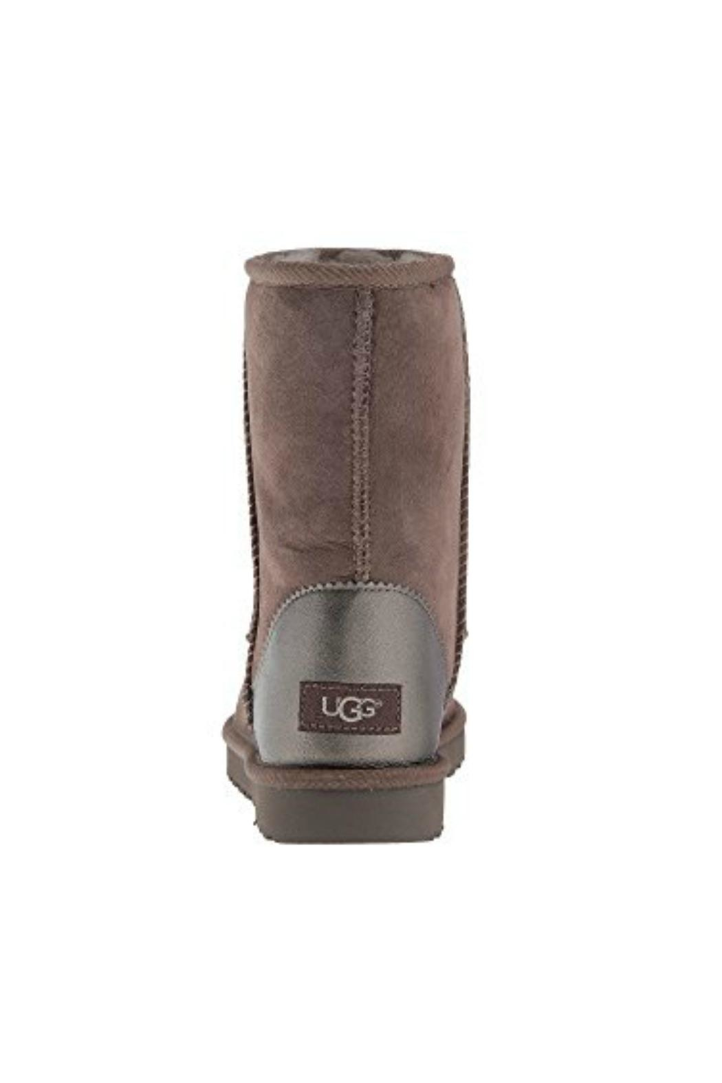 UGG Australia Classic Short Metallic Boots - Side Cropped Image
