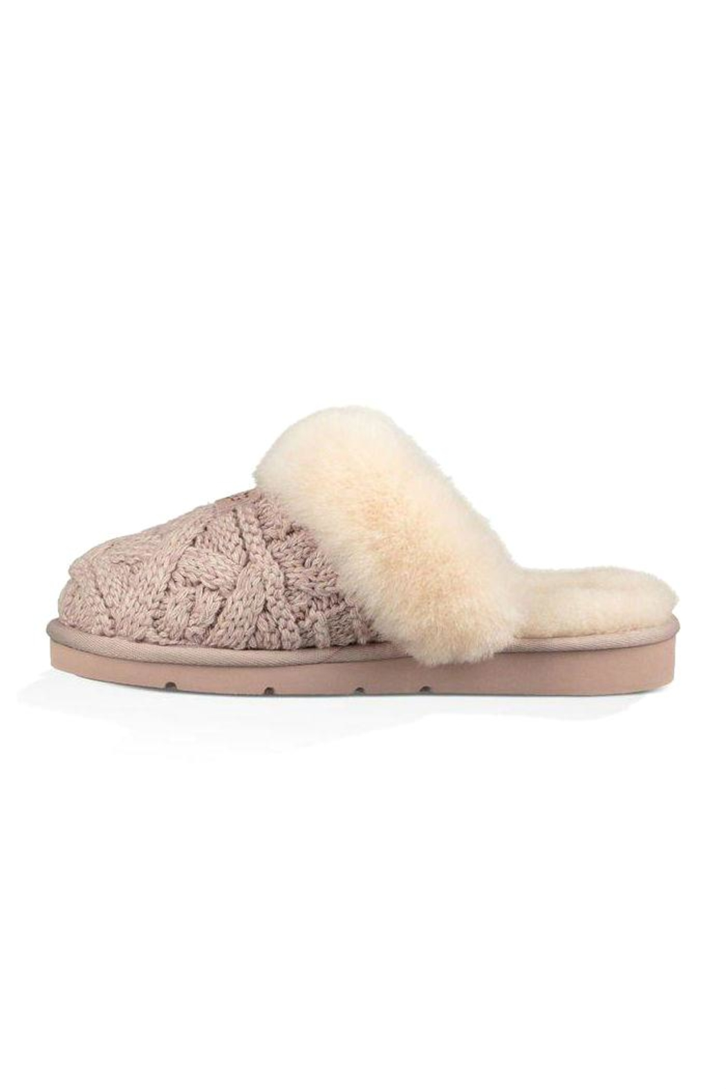 13c484896059 UGG Australia Cozy-Cable Knit Slippers from Montreal by Boutique TAG ...