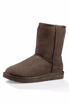 Shoptiques Product: Short Shearling Boot