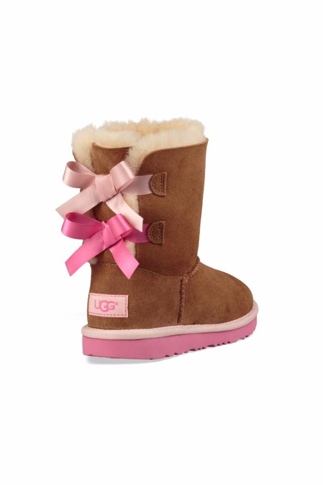UGG Australia Women Bailey Bow-2 Boots - Back Cropped Image