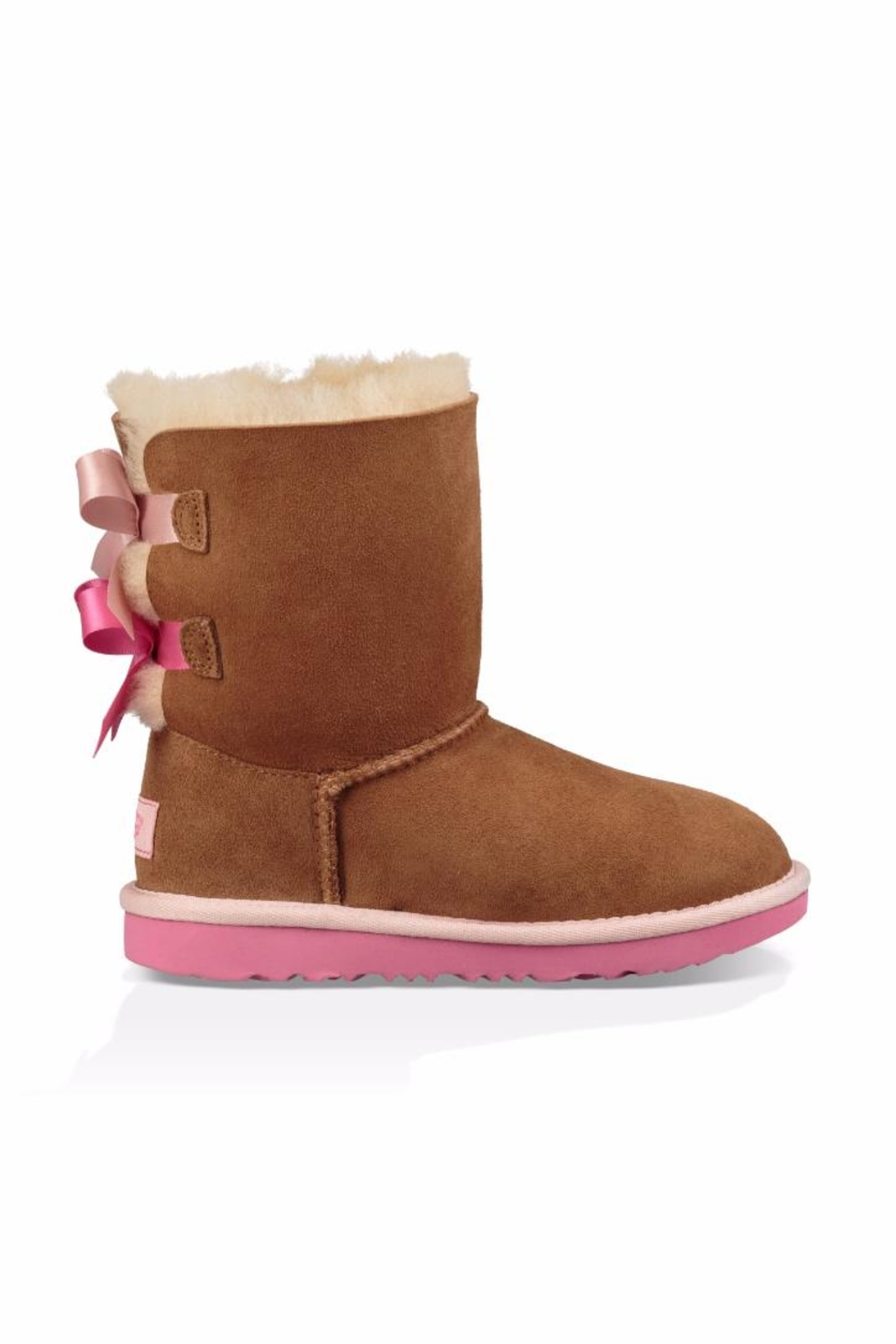 UGG Australia Women Bailey Bow-2 Boots - Side Cropped Image