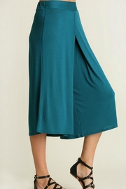 Uj Pleated-Front Gaucho Pants - Side cropped