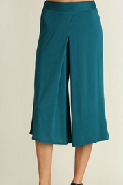 Uj Pleated-Front Gaucho Pants - Front cropped