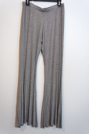 Uj Striped Palazzo Pants - Product Mini Image