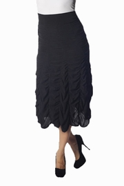 UKO Black Ruched Skirt - Product Mini Image