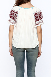 Ulla Johnson Ana Top - Back cropped