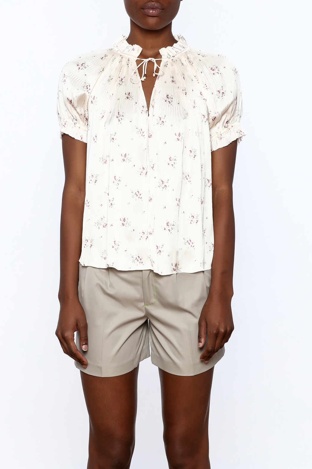 Ulla Johnson Mallory Blouse - Side Cropped Image