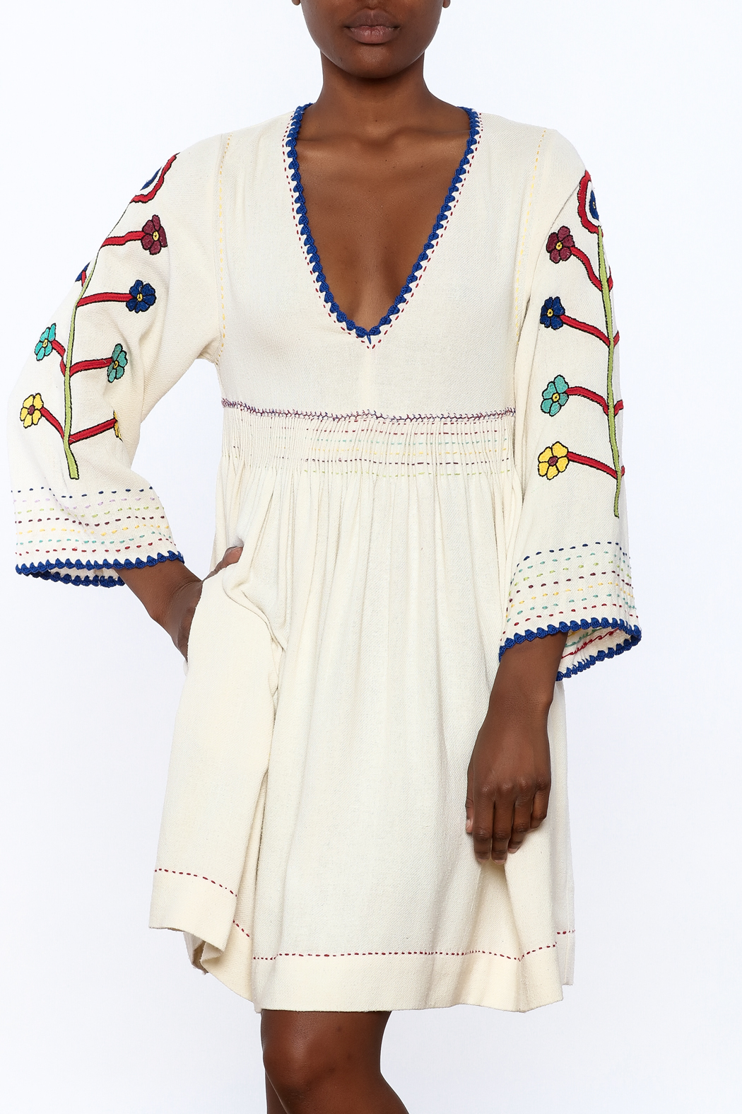 Ulla Johnson Masha Embroidered Dress - Main Image