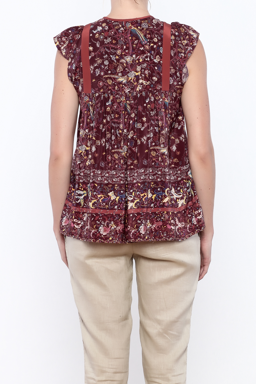 Ulla Johnson Posy Top - Back Cropped Image