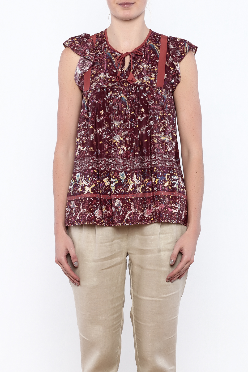 Ulla Johnson Posy Top - Side Cropped Image