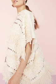 Shoptiques Product: Bennie Handloomed Wrap - Back cropped