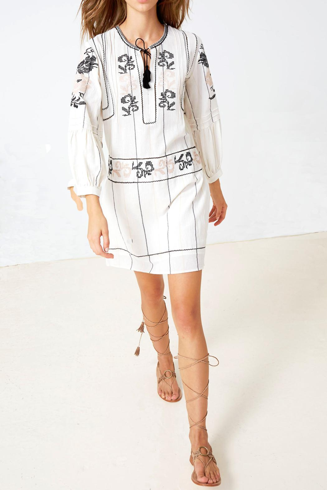 Ulla Johnson Dalia Embroidered Dress Front Cropped Image