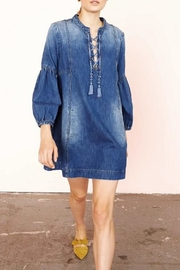 Ulla Johnson Deren Denim Dress - Product Mini Image