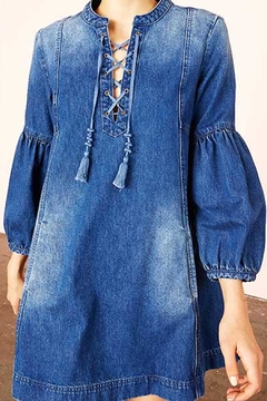 Ulla Johnson Deren Denim Dress - Alternate List Image